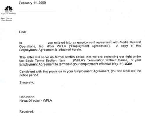 Don North's Letter/From TVSpy