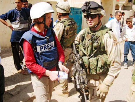 CBS' Kimberly Dozier in Iraq