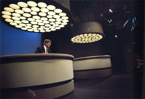 Anybody Else Remember WCBS and These Wild Desks?  I Do.