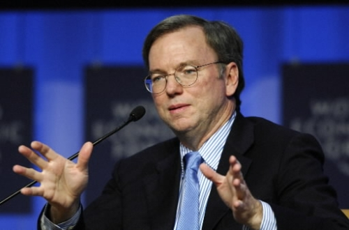 "Google CEO Eric Schmidt:  ""Everyone Needs a Coach"""